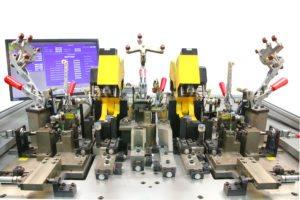 Verpresseinheit Vorrichtungsbau Produktionsmaschine für die Automobilindustrie