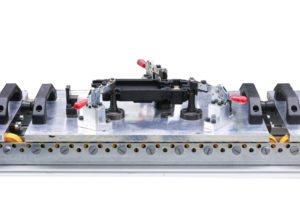 Vorrichtungsbau Rollenschlitten Rollenbahn für die Automobilindustrie