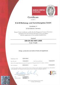 Zertifikat DE002611-1-e